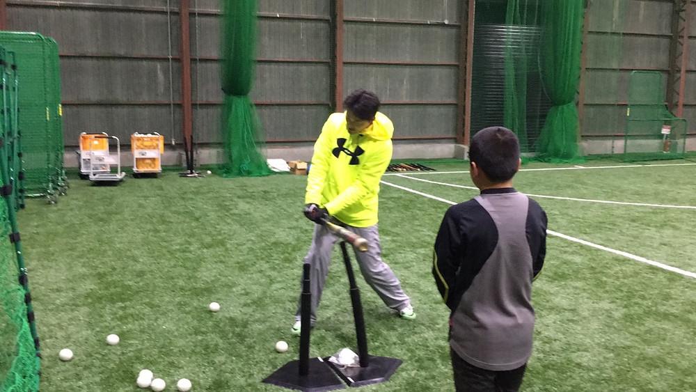 ブリスフィールド東大阪 野球教室
