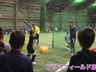 桧山進次郎コーチの特別野球教室 ブリスフィールド東大阪