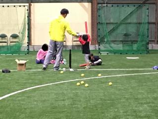 3才~中学3年生までOK!!大阪の野球教室です♪
