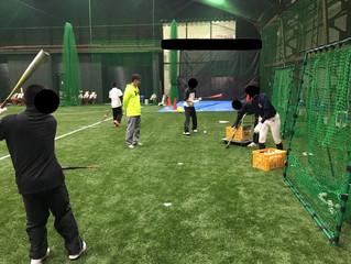 大阪の野球塾・野球教室・室内練習場です!!