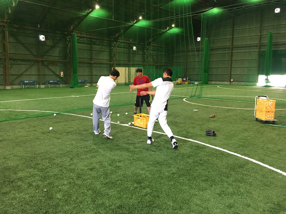 野球教室 一般クラス11時~12時開校