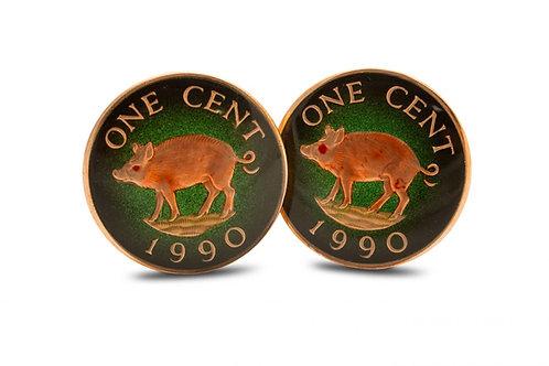 Bermuda 1 Cent Wild Boar