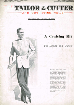 1939 April Tailor & Cutter Savile Row