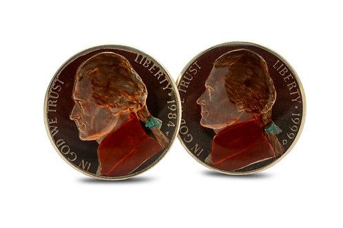 USA 5 Cents Thomas Jefferson Profile