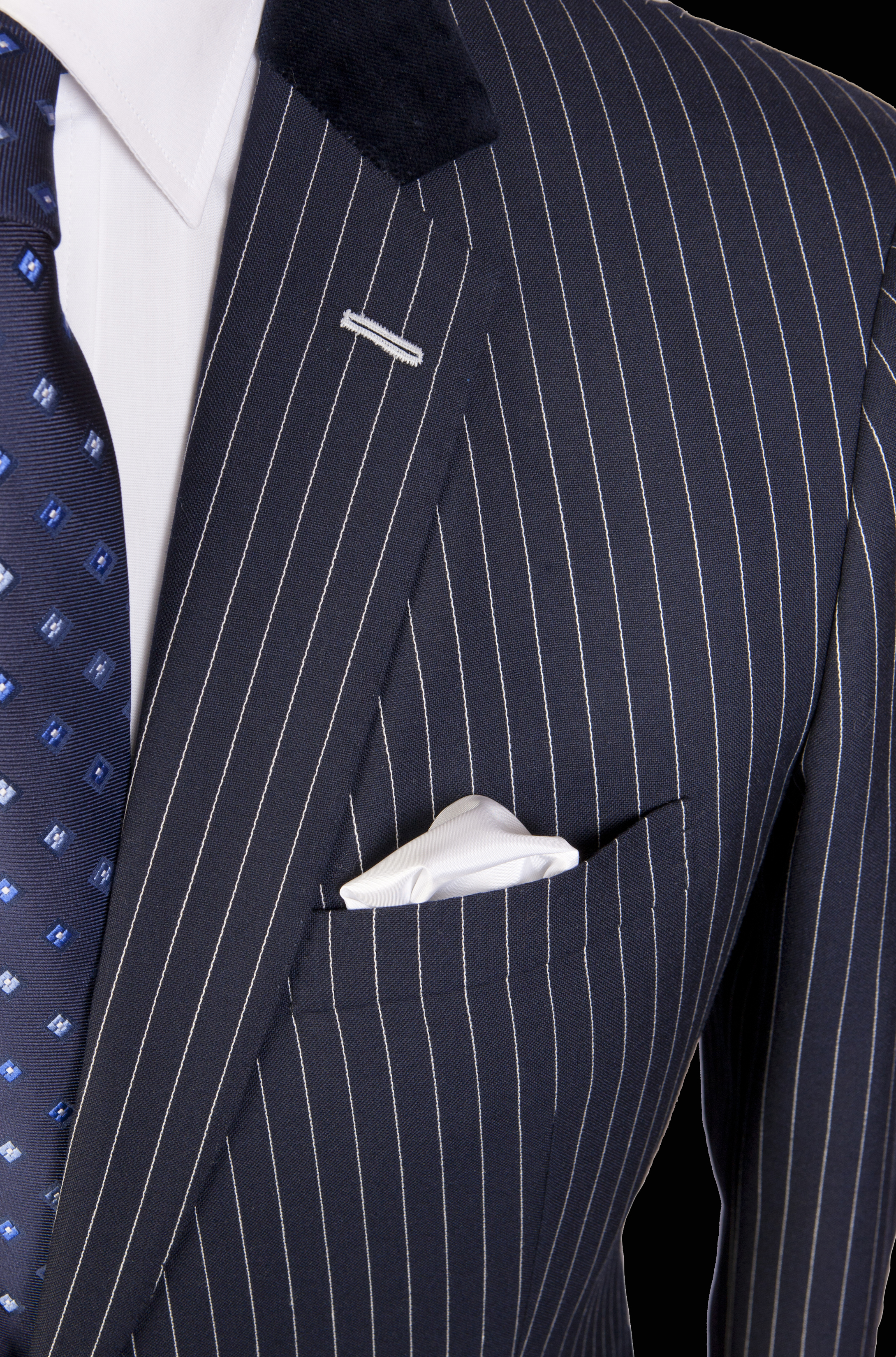 Davies and Son Pinstripe PocketDetail