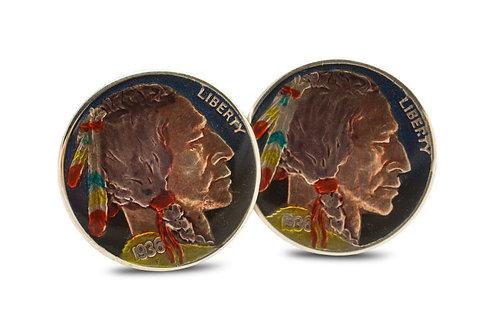USA 5 Cents Native American Head