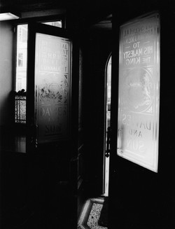 Davies and Son Savile Row Door Way