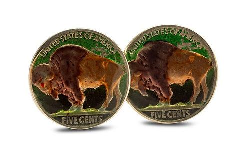 USA 5 Cents Buffalo