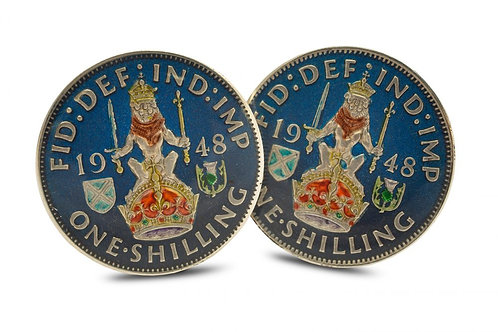 One Shilling Lion and Crown Scottish