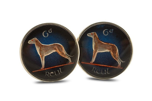 Eire 6 Pence Wolfhound