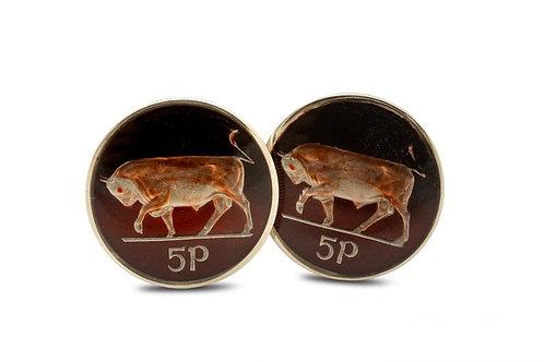 Eire 5 Pence Bull