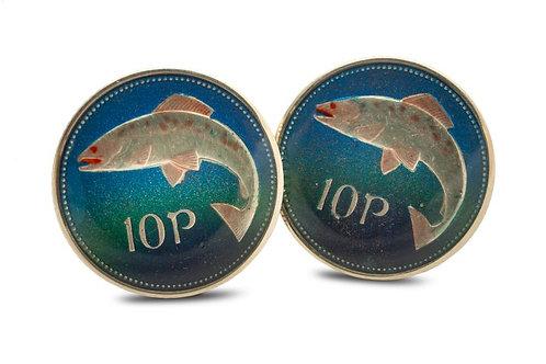 Eire 10 Pence Salmon