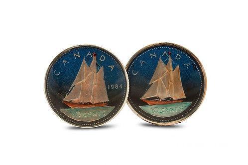 Canada 10 Cents Schooner