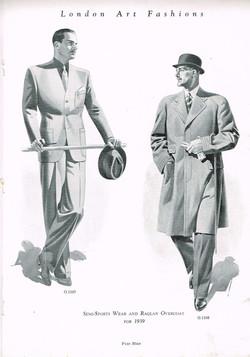 Practical wear 1939 Tailor & Cutter Savile Row