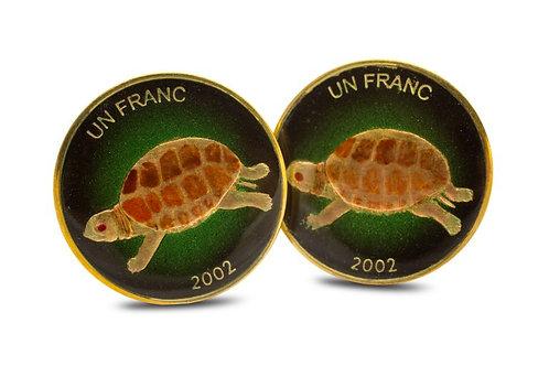 DRC 1 Franc Turtle