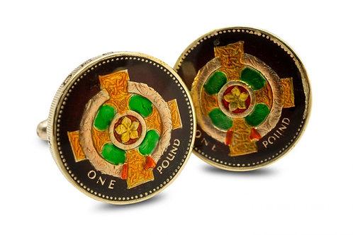One Pound Northern Ireland Celtic Cross