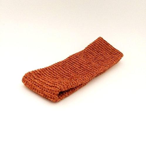 Stirnband bronze-Glitzer
