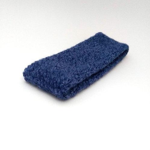 Stirnband blau meliert