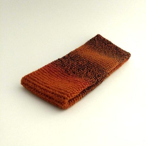 Stirnband orange-Farbverlauf