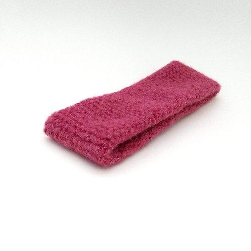 Stirnband pink meliert