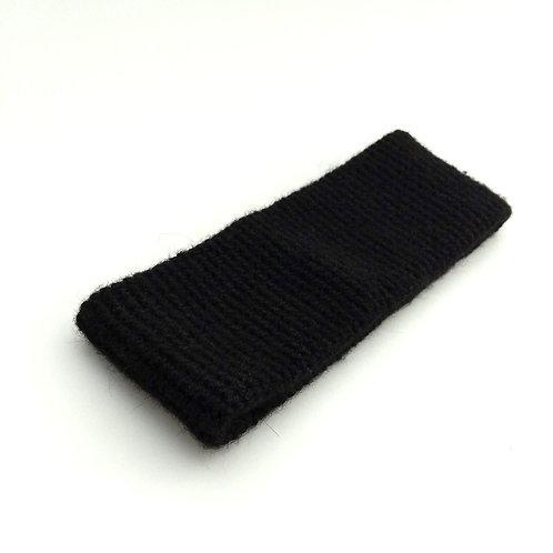 Stirnband schwarz
