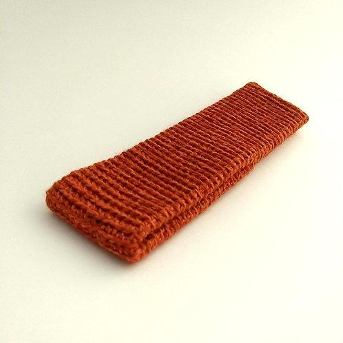 Stirnband orangerot