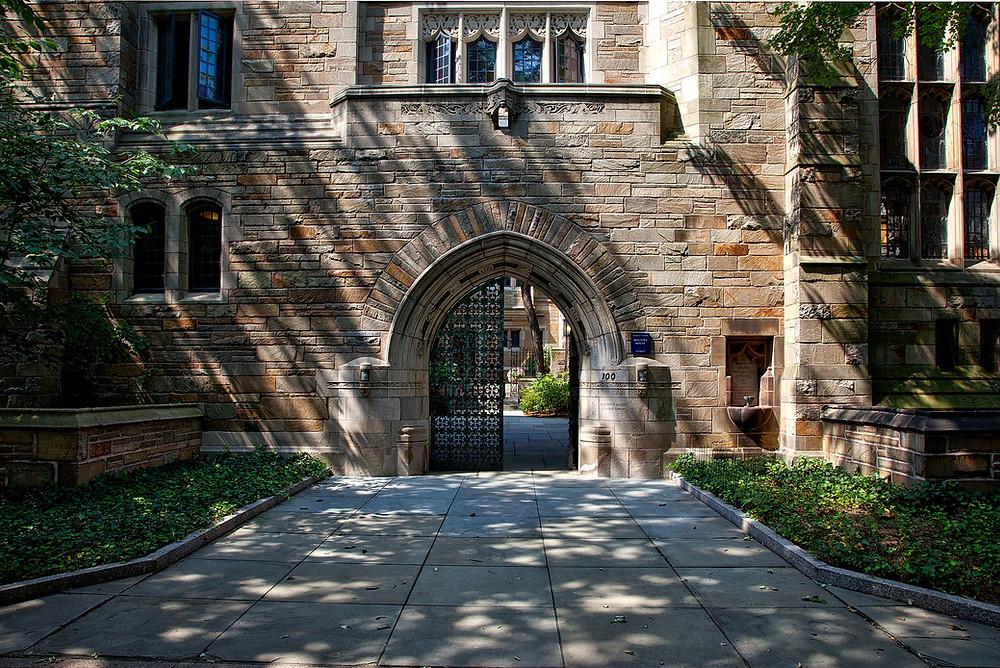 Yale University landscape