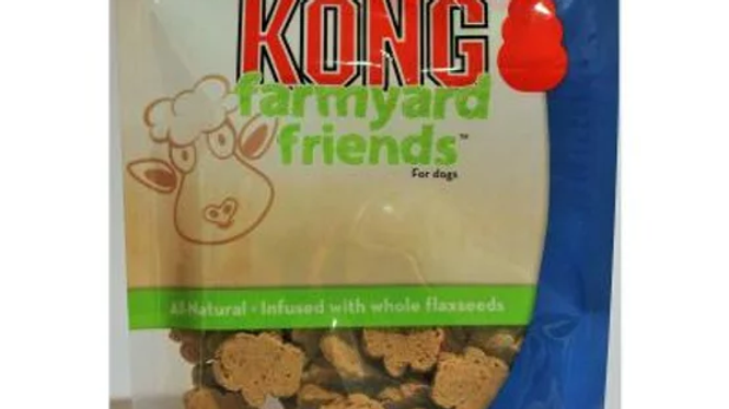 KONG Roast Lamb Flavour Biscuit Treats For Dogs 200gm