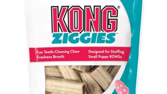 KONG Ziggies Stuffins Puppy Treats For Small Dogs