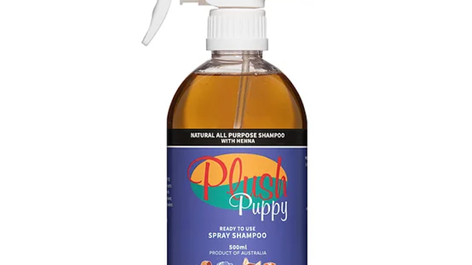 Natural All Purpose Spray Shampoo with Henna - 'Ready To Use' Spray