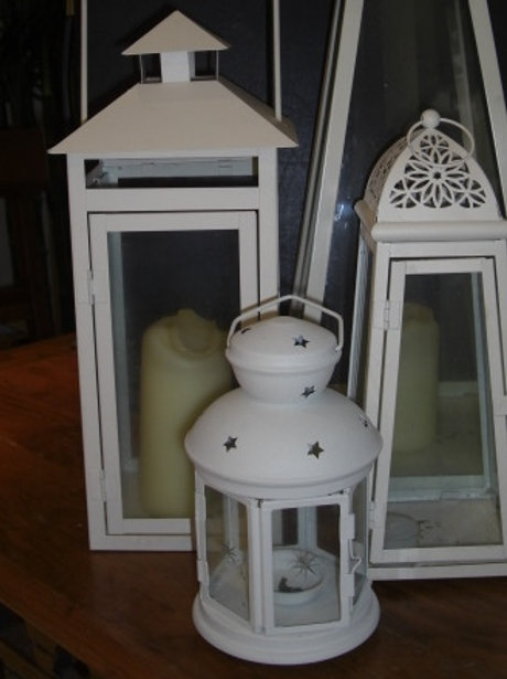 Lantern Package - Ivory Trio