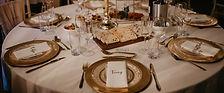 Wedding tableware hire dorset