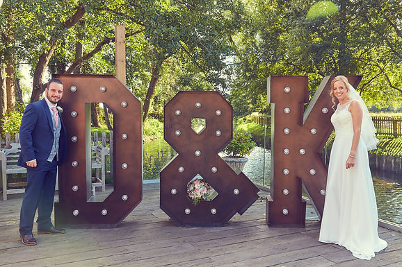 Giant Letter - Copper Effect - Qty3  Initials price for 3