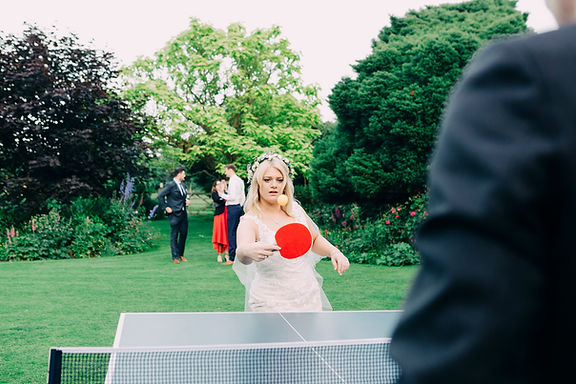 Garden Game - Table Tennis