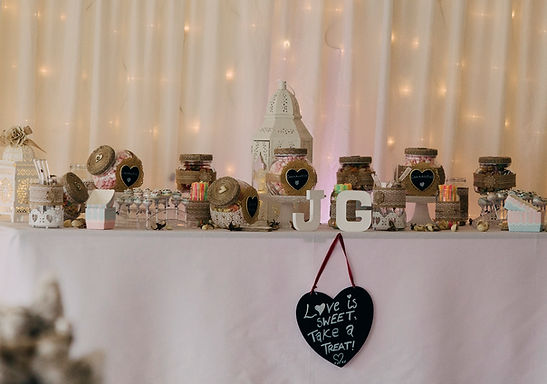 Sweet Table Accessories - Setup and arrange your pre-filled jars