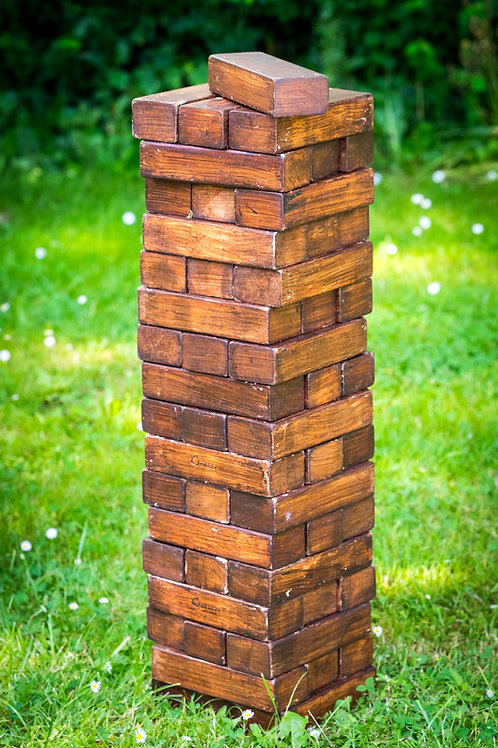 Garden Game - Giant Jenga (package 3 for £60)