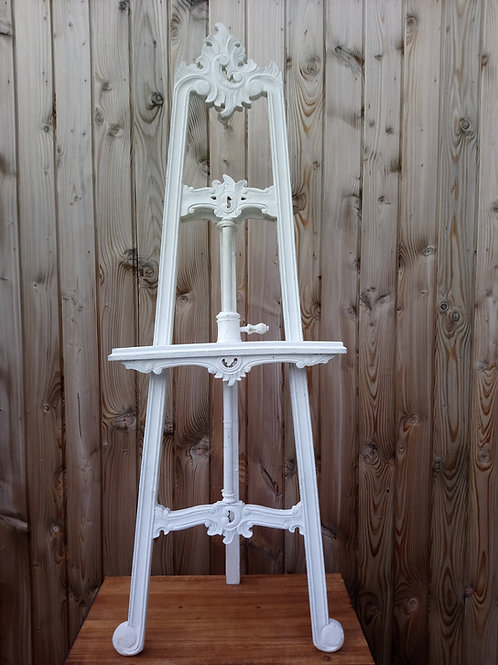 Easel - Floor Standing - Wooden - Ivory - Hire Price