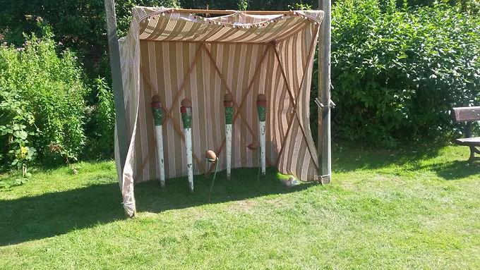 Garden Game - Coconut shy