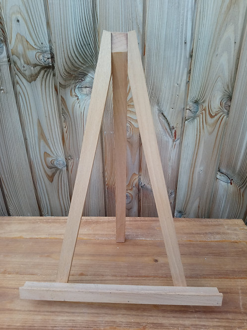 Easel - Tabletop A3 - Wooden - Natural - Hire Price