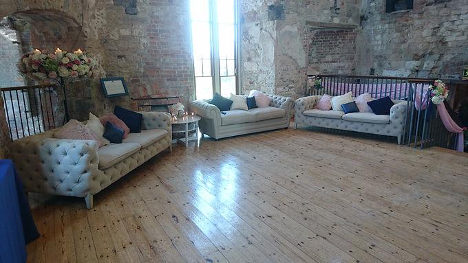 Sofa with Theme Cushions (Price per Sofa)