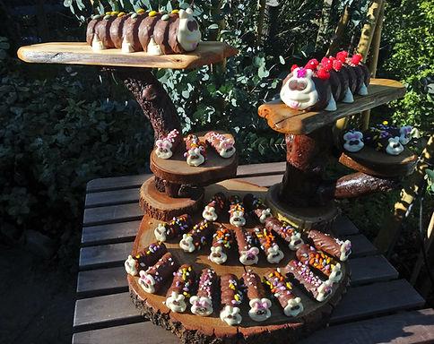 Caterpillar Cake Stand Hire