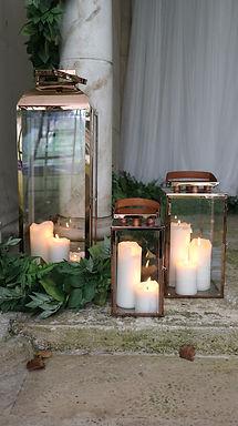 Lantern Package - Rose Gold Trio