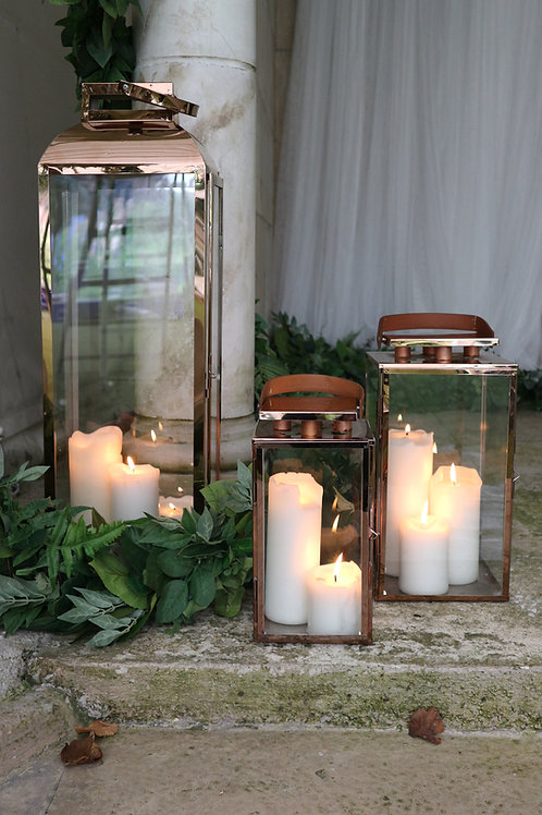 Lantern Package - Rose Gold Trio