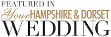 Featured in your hampshire and dorset wedding