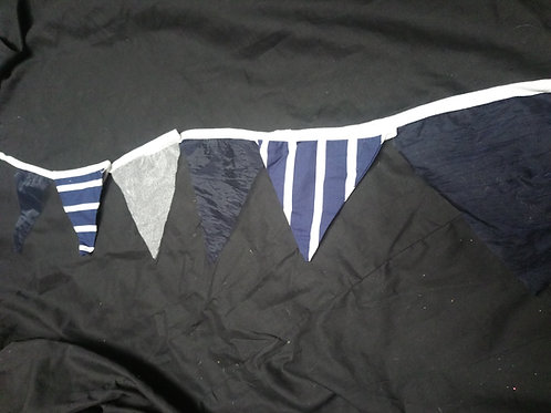 Bunting - Navy, stripes and the occasional tulle - nautical with a twist