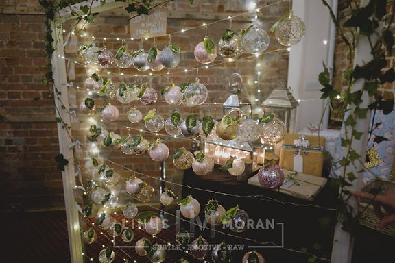 Table Plan - Bauble Abacus - Christmas