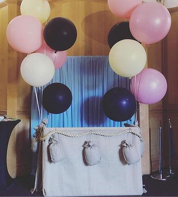 Hot Air Balloon Photo Backdrop