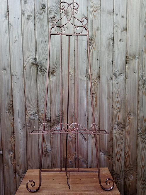 Easel - Floor Standing - Metal - Rose Gold - Hire Price