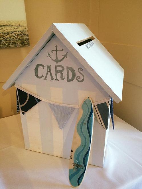 Card Box - Beach Hut