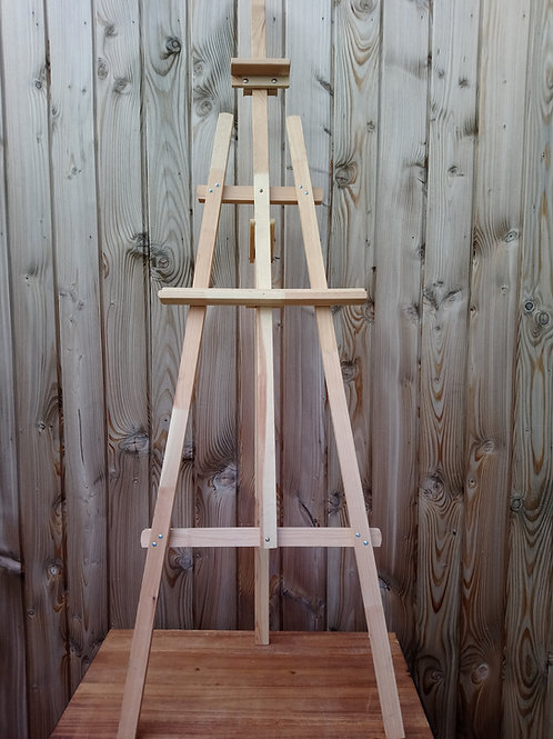 Easel Floor Standing - Wooden - Natural - Hire Price